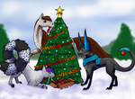 Our Christmas Tree by Invader-Michaela
