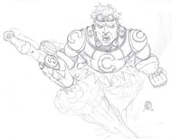 Cannonball sketch by MARR-PHEOS