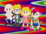 EarthBound Gang by Trowelhands