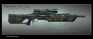 TKRF-848H Thornweld Sniper Rifle by BlackDonner