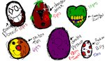 My little Psycho Adoptables (Killers) -SOLD OUT!- by Dysfunctional-Horror