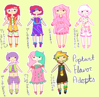 Poptart Flavor Adopts {ALL SOLD!} by acidicapple