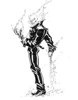 ghost rider pose by tanyk