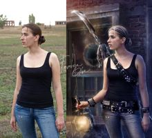 Dangerous (before and after) by Helga-Hertz