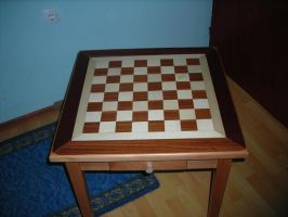 School made table top view by sedsone