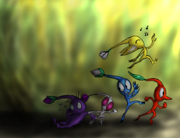 Pikmin Style by LE-the-Creator