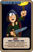 Character Boric by JeffPerryman