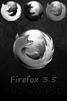 Firefox 3.5 Icon by FernandoImaginary