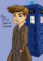 10'th doctor by MajaEL95
