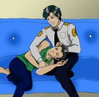 Officer Grayson by Haycle