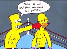 Bart Simpson's Punch Out by DJgames