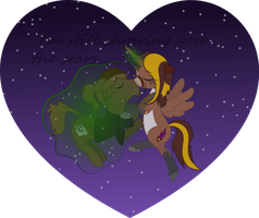 [Commission] I'm Still Showing You The Stars by Kell95
