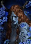 Succubus / Portrait series by AnnaPostal666
