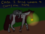 :Collab Pic 3: Found Someone to Carry Me by Northernhearts