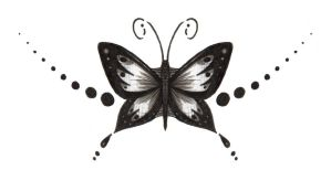 Butterfly Tattoo Design 2 by aconite