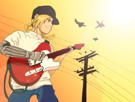 Full Metal Guitarist by soccercat4685
