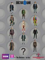 Doctor Who: The Doctors so far by SontaranCyberman