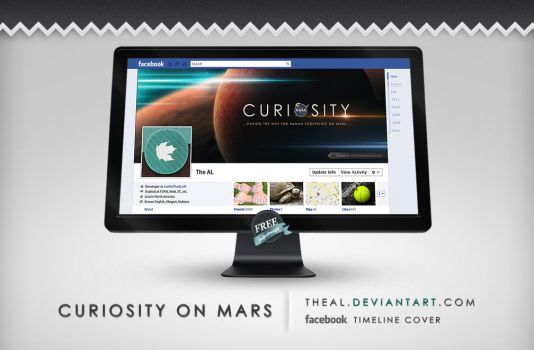 Curiosity on Mars Timeline Cover by TheAL