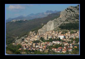 Village in Italy by 1photo