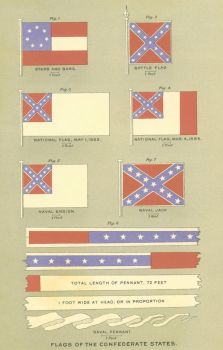 Flags of the Confederate States of America by StephenBarlow