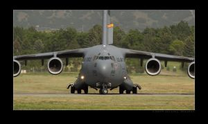 Hill AFB Airshow C-17 by jdmimages