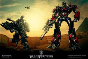 transformers 2 poster design by injured-eye