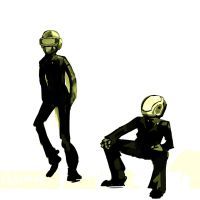 Daft Punk by Electrixocket