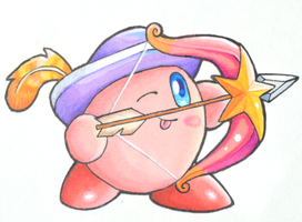Kirby sticker 02 by KnightoftheStars