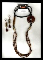 brown2 necklace by DesignsGP