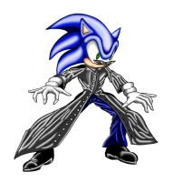 Sonic in the Matrix by jaguarcats