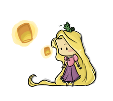 Rapunzel T-shirt design by vanipy05