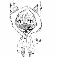 Chibi sketch comm 7 by Yu-Tanni