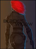 Black Widow by DarroldHansen