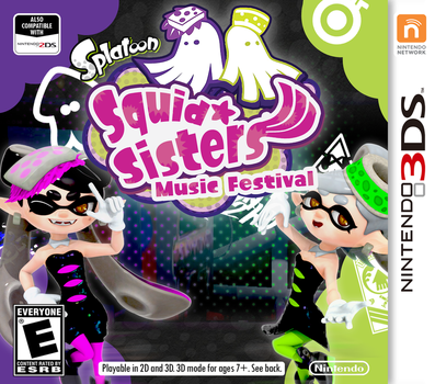 Squid Sisters: Music Festival mockup by Nibroc-Rock