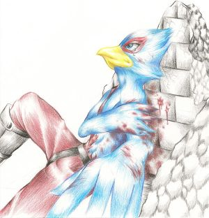 [Imagen: Falco_wounded_by_HotaruArc.jpg]
