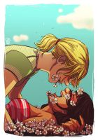 Faberry you my beautiful flower by patronustrip