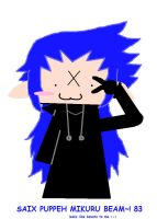 saix puppeh mikuru beams u all by shadowflamerofdoom
