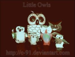 Little Owls and Spells by C-91