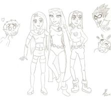 Teen Titans costume switch 2 by TeenTitans4Evr