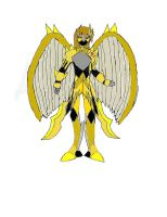 Number 39X: Utoparai the Armored Angel of Justice by SonicAsura