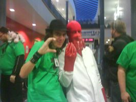 Me and Dr zoidberg by LividThor