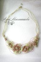 Summer Recall, The Necklace by beadlady