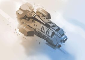 Gun Shuttle by Hamsta180