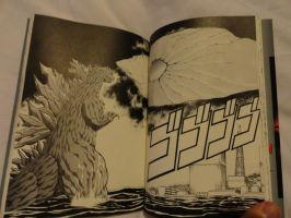 Godzilla 2000 Manga Shot 9 by GIGAN05