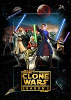 Clone Wars 2 poster by denisogloblin