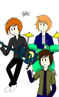 The Boy Trio by Ask-the-Genderbents