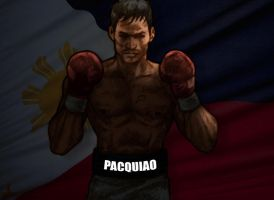 Manny Pacquiao by Santini