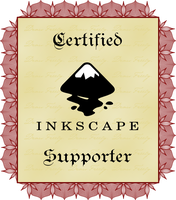 Certified Inkscape Supporter by prkos