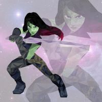 Gamora - Guardians Of the Galaxy by JanMtz