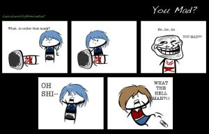 YOU MAD? ...at Kingdom Hearts by Lauraloveslily